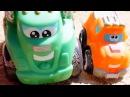 Мультики про машинки: Чак и его друзья! Клад! Игры на улице.