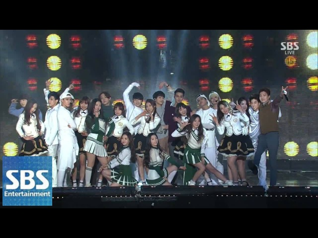 Super Rookie (GOT7, 레드벨벳, 러블리즈, WINNER) -Moves Like Jagger