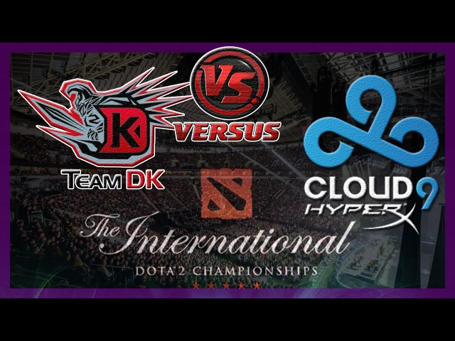 Самая Быстрая DK vs C9 International 2014 Dota 2 ti4 RUS