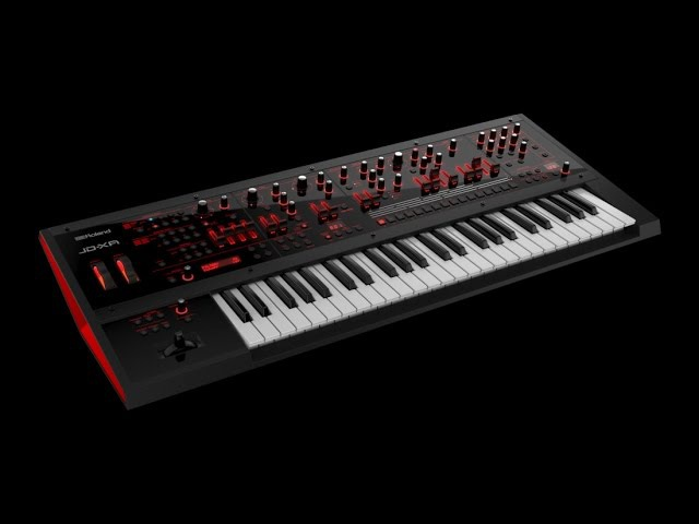 Roland Jd Xa Synth Virtual Analog Synth Jamming Synthcloud sound library