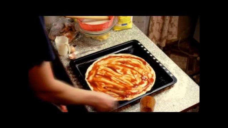Как Приготовить Пиццу Быстро! Видео Рецепт