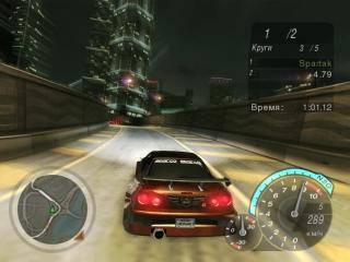 Need for Speed: Underground 2 - разгром главного Призрака (Финал): Райан Купер против Калеба Каллана Рииса