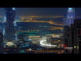 Dubai timelapse 2013 Нереальная красота!!!