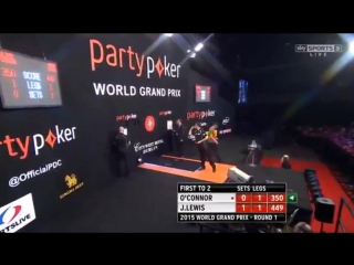 Jamie Lewis vs William O'Connor (World Grand Prix 2015 / Round 1)