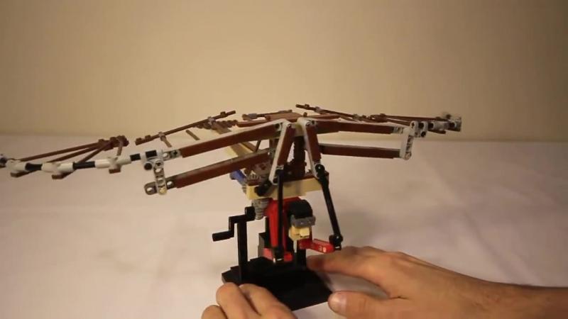 Летающий аппарат Да Винчи