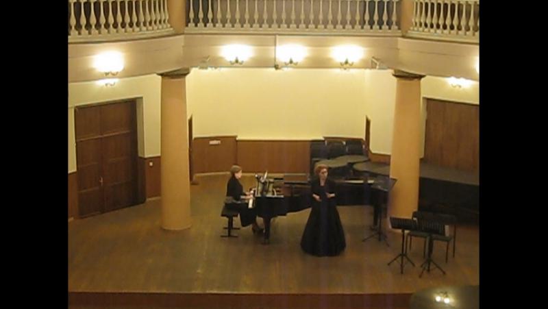 В.М.Птушкин Колыбельная исполняет Марина Черноштан (сопрано) солистка харьковской обл-й филармонии, за роялем - Светлана Клеба