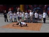Выступление команды Брейк Данса на День города Дзержинска