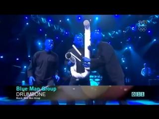 Blue Man Group - Medley (Melodi Festival 20-02-2010)