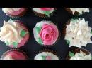 Ann's NEW easy buttercream roses flower cupcakes pt1 how to cook that ann reardon