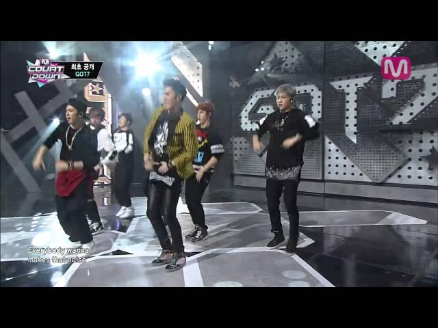 GOT7_Intro따라와 (Introfollow Me by GOT7 of M COUNTDOWN 2014.1.16)