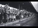 1945, Белорусский вокзал, Первый поезд Победы прибыл в Москву, 10 мая, кинохроника ...