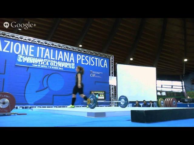 Campionati Italiani Seniores Pesistica Olimpica 2015