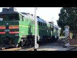 2ТЭ116 1347 следует резервом в депо по ст.Бердянск