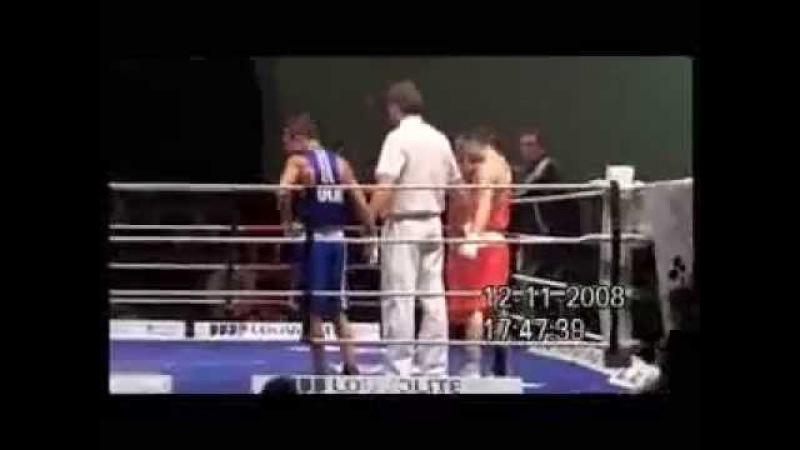 ЧЕ-2008 Lomachenko vs David Oliver Joyce ☯ Ломаченко - Дэвид Оливер Джойс