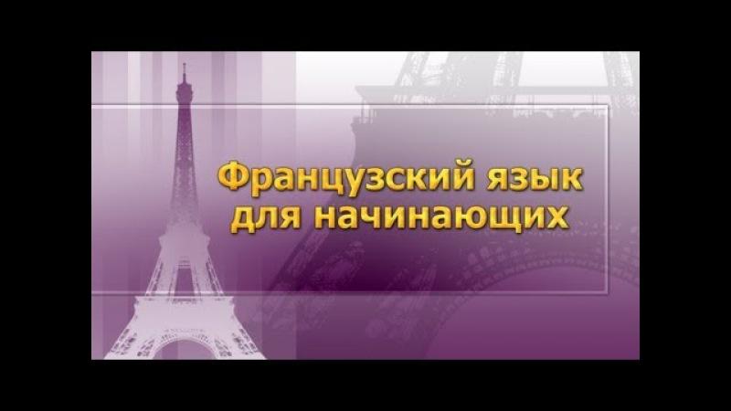 Французский язык для начинающих. Урок 4. Части речи. Артикль » Freewka.com - Смотреть онлайн в хорощем качестве