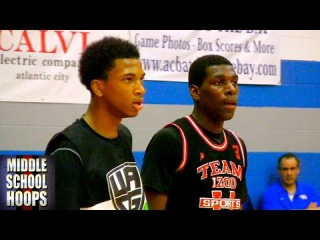 Marvin Bagley vs Naz Reid - Class of 2018 Basketball Prospects Battle in Atlantic City