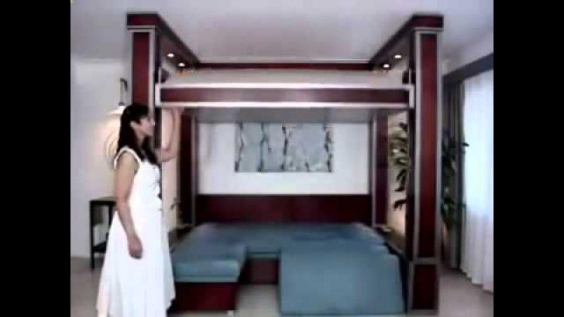 мебель трансформер для малогабаритных квартир