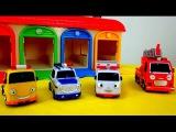 Мультики про машинки: Машинки - Помощники! Полицейская машина, Скорая помощь, Пожарная, Эвакуатор
