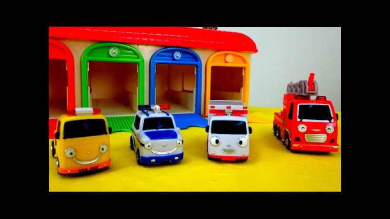 Мультики про машинки: Машинки - Помощники! Полицейская машина, Скорая помощь, Пож...