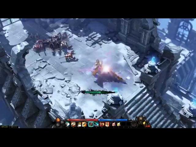 Lost Ark Online Gameplay Debut Trailer Hack Slash MMORPG
