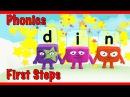 Alphablocks - Word Magic D-I-N (Red Level Step 2)