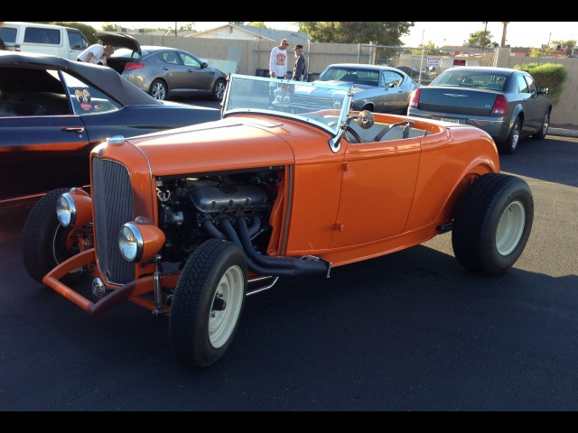 Ford Roadster Hot Rod at the So-Cal Speed Shop AZ. Swap Meet Car Show
