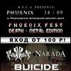 14.09 - PHOENIX FEST: Death Edition - PHOENIX