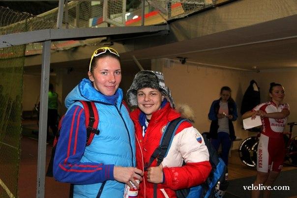 Алена Зотеева и Мария Аверина