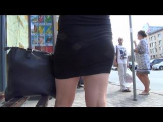 SEXY GIRL !!! Девушка в короткой юбке !!! Part One