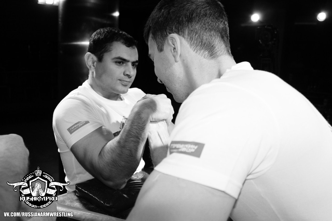 Vadim Akperov - Armwrestling Open Cup 2014