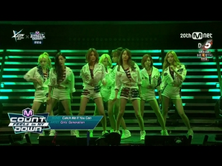 [PERF] SNSD -  PreShow, Catch Me If You Can, Tell Me Your Wish, Party & Ending ( KCON in NY x Mnet MCountdown/150815)