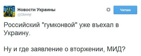 """Очередной путинский """"гумконвой"""" вторгся в Украину - Цензор.НЕТ 5456"""