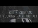 Mistro - Fuck Humanity (Prod S.Ø.B) (2015) LYRICS VIDEO