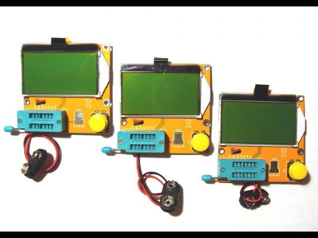 Mega328 - мультифункциональный тестер радиокомпонентов M328 обзор
