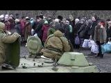 Углегорск смогли покинуть около шестисот мирных жителей, которые неделю провели в подвалах - Первый канал