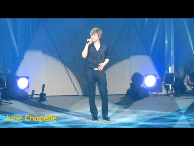 20120205 KIM HYUN JOONG Japan Debut Premium Live Aftn ENCORE 내머리가나빠서Because I'm Stupid