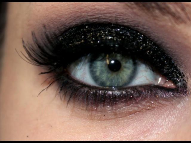 Праздничный вечерний макияж/Sexy Glam Smokey Make Up