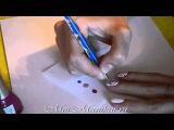 Дизайн ногтей дотсом в точку