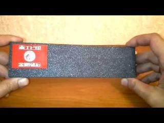 Точильный камень NANIWA HA-0120,#60, доводка и результат работы по РК.