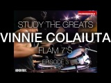 Vinnie Colaiuta Flam 7's STUDY THE GREATS