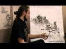 Уроки по пейзажной живописи у-син. Урок 12.2 Архитектура в китайском пейзаже 1