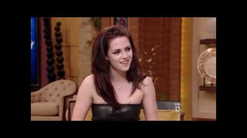 Kristen Stewart - Live With Kelly