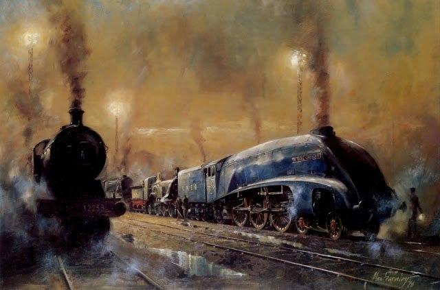 Я люблю поезда. Очень. Романтику путешествий можно ощутить только в поезде.