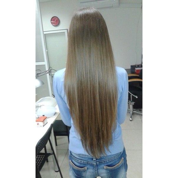 Контурное подравнивание волос