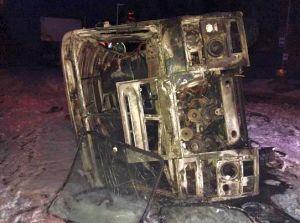 И снова двойные стандарты: взорванная снарядом маршрутка в Донецке это вам не автобус с Волновахи