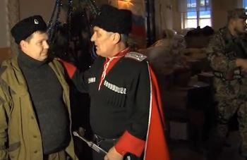 Донские казаки будут передавать помощь из Ростова сиротам и казачьим семьям до Рождества (ВИДЕО)