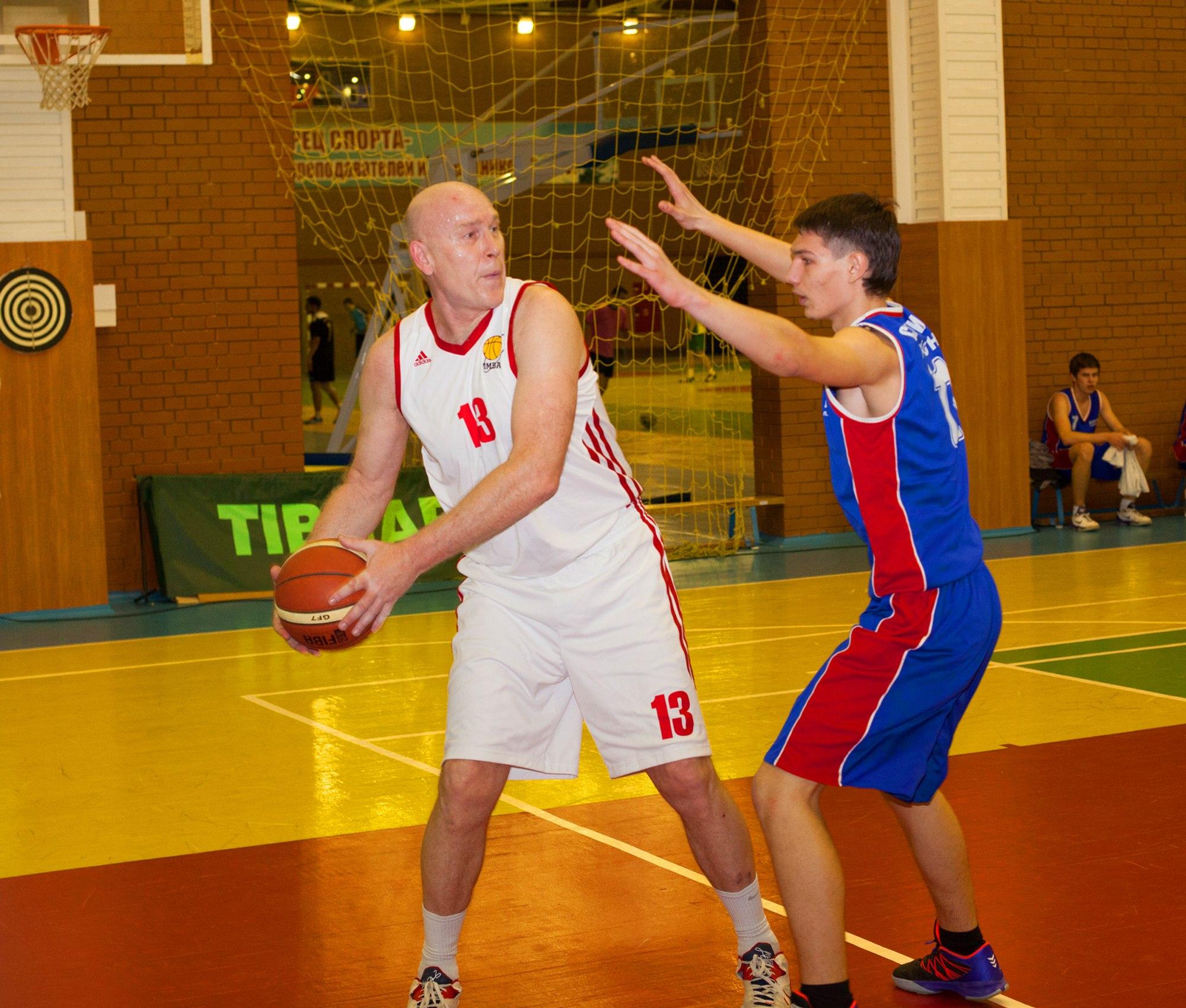 Сергей Васильевич Иванов баскетбол