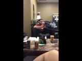 Scott Avi Kevin Dressing room Pentatonix snap