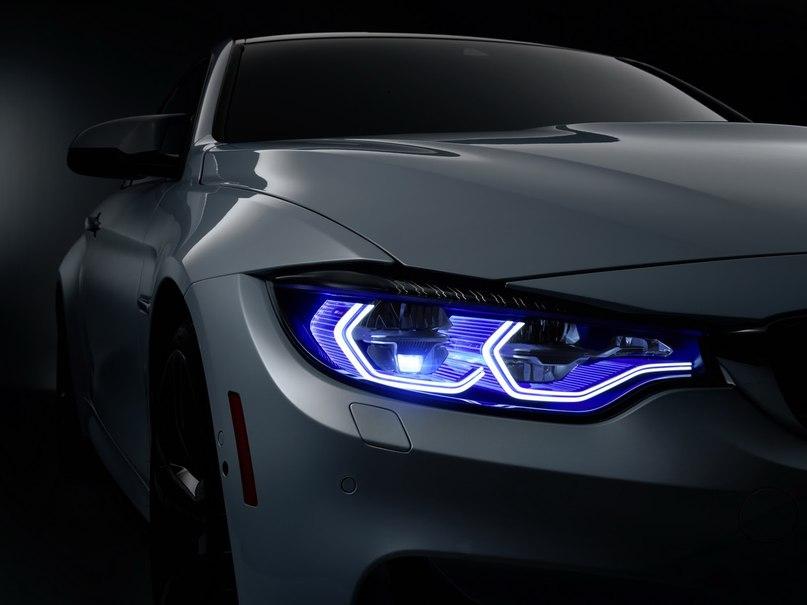 BMW одевает лазерно-диодные фары