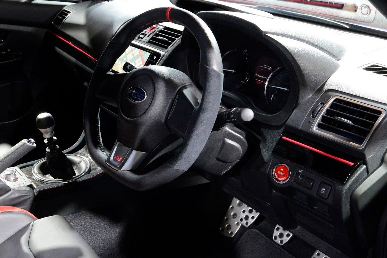 Новый Subaru Levorg S Concept все ближе к STI модели